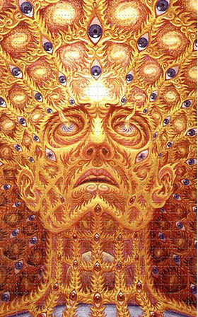from Alex Grey images via erowid.org