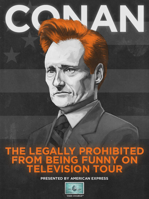 Conan O'Brien In Vancouver!