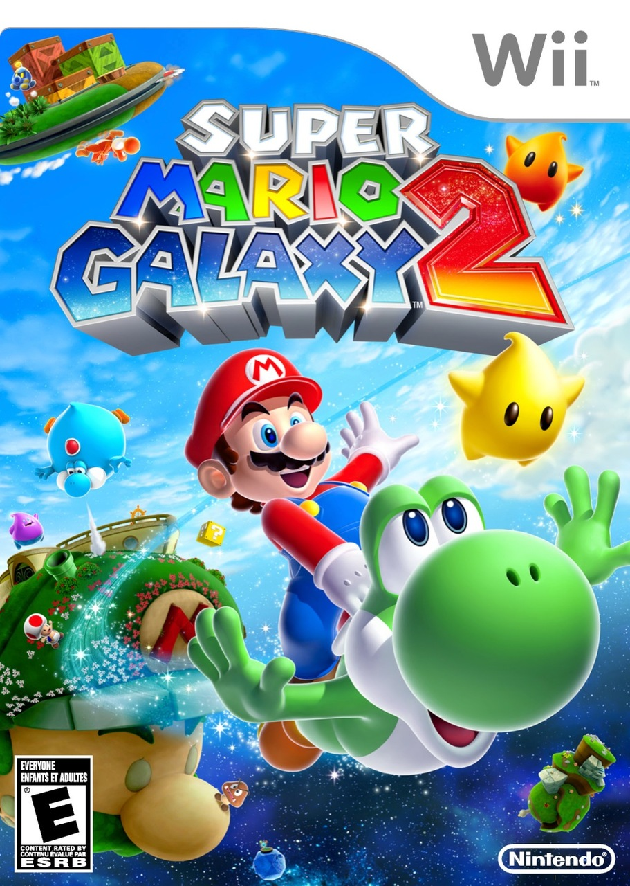 Super Mario Galaxy 2 looks like it's going to be sweet!
