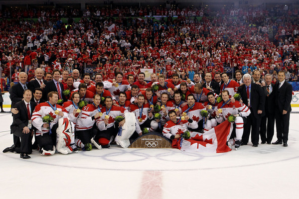 Congratulations Team Canada on winning gold in Men's Hockey, and for crushing the previous olympic record!  14 gold medals baby!