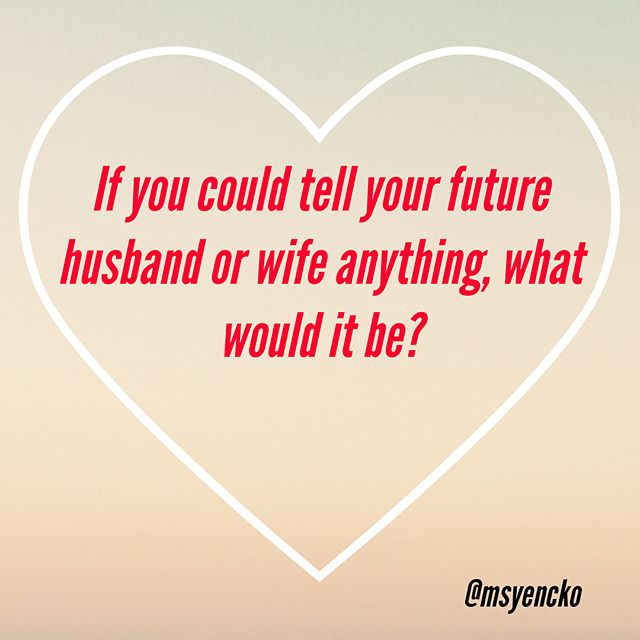 I took a trip down memory lane on my Instagram timeline and came across a question I asked my followers back in 2013. The people who answer this question are either married, engaged, or in beautiful serious relationships! This just demonstrated the power of words and how God really listens to our desires. I would love to know if you could tell your future husband or wife anything what would it be? Who knows if in the next year or two when I repeat this question I will reflect on the fact that you're either married, engaged, or have met the love of your life! #wordshavepower #dearfuturehusband #forthismanihaveprayed #Godanswers #married #engaged