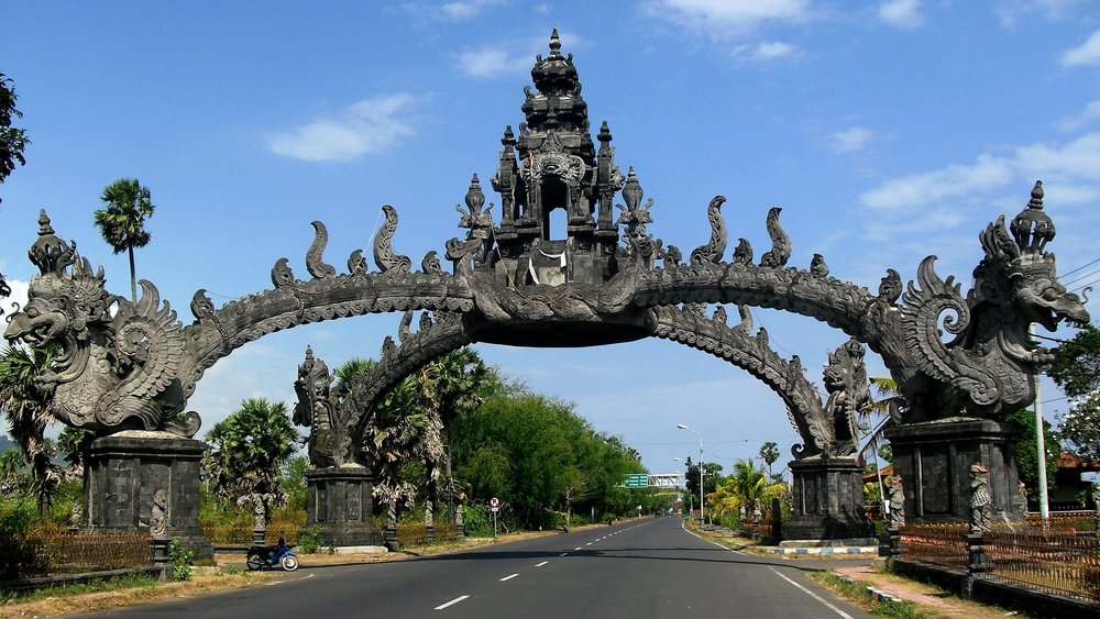 One of the many amazing gates in Beautiful Bali