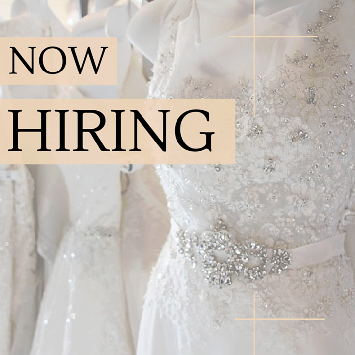 Mestads is NOW HIRING! — MESTAD\'S BRIDAL AND FORMALWEAR