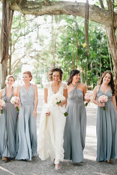 While walking to the aisle you may want to capture the moment with your ladies