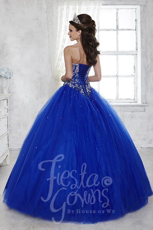 FIESTA GOWNS STYLE #56281 — MESTAD\'S BRIDAL AND FORMALWEAR