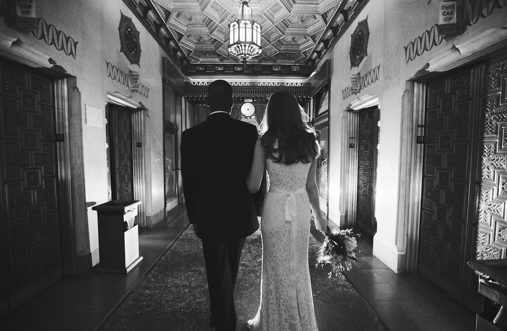 Art-deco-old-Chicago-wedding.-Chicago-Vintage-Weddings-DwJohnson-Studio-The-Pittsfield-Building-Factor-Models-Adem-and-Rachel-W-Fab-Flora-The-Left-Bank-BHLDN-Formally-Modern-Tuxedo.jpg