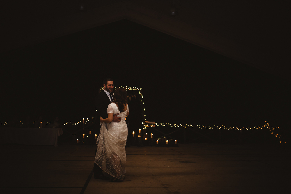 First Dance With Candles
