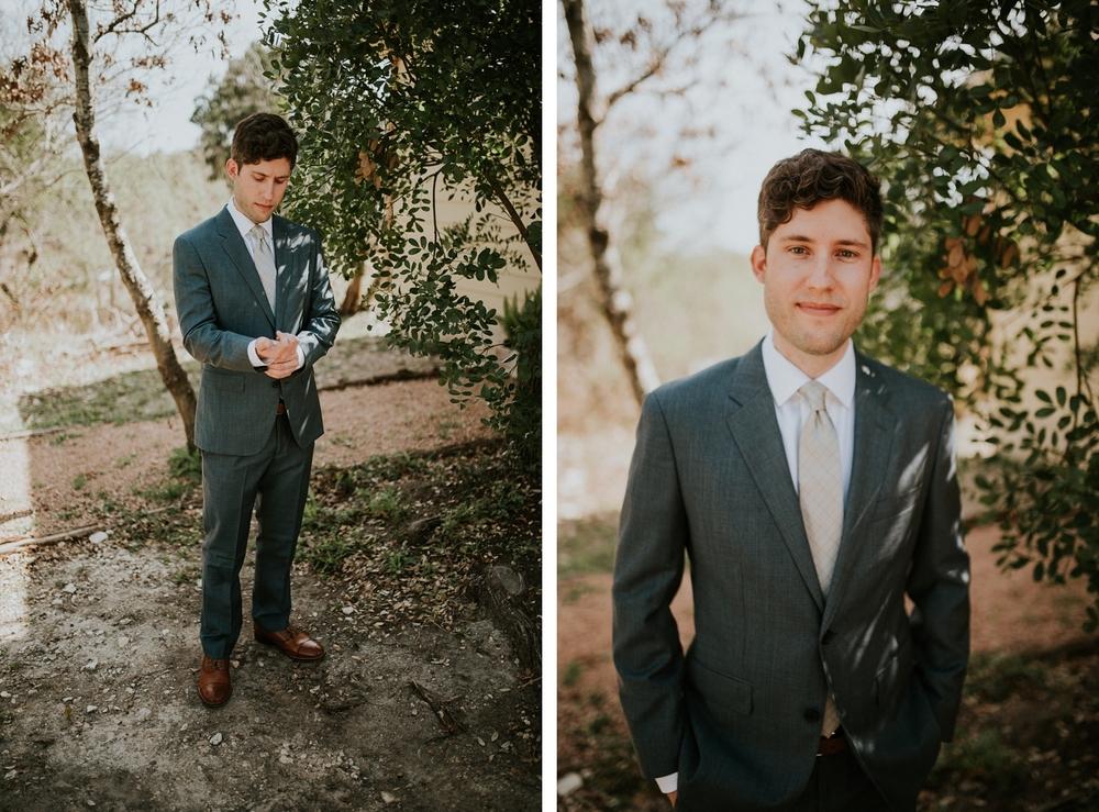 Groom Portraits - Austin Wedding Photographer Donny Tidmore