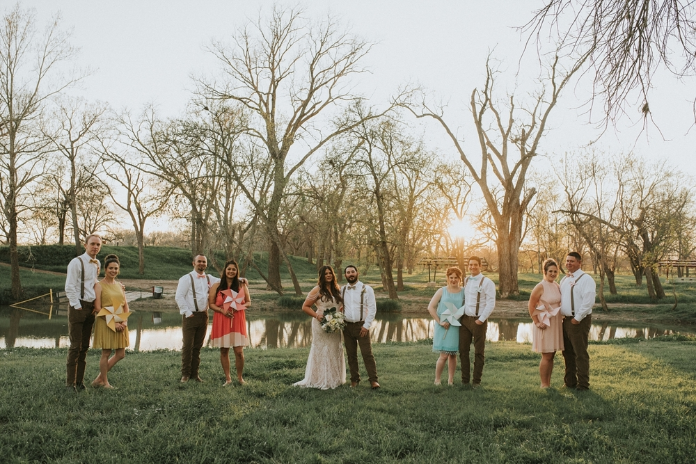 Zedler Mill Wedding Party