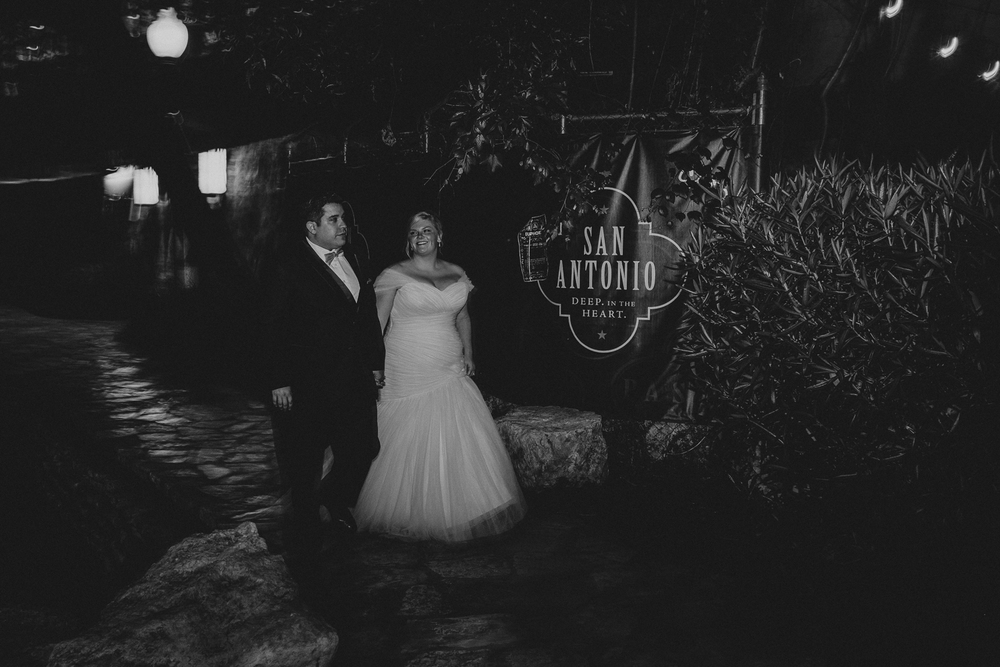 San Antonio Riverwalk Wedding