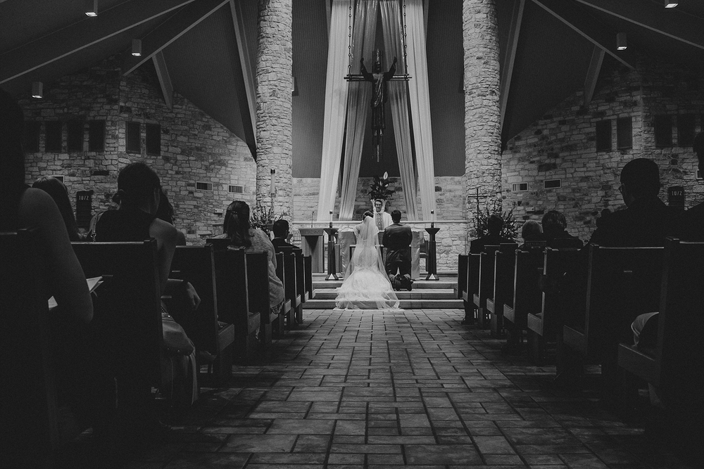 St Thomas More Austin Wedding
