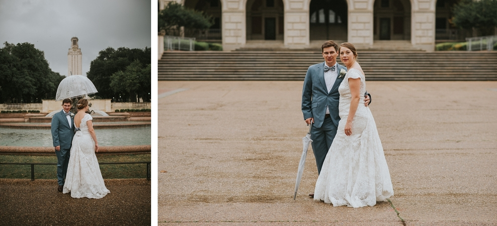 University of Texas at Austin Wedding Portraits