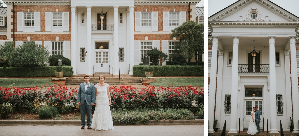 Texas Federation of Women's Club Mansion Wedding