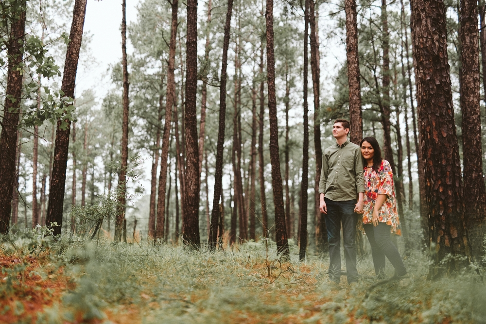 Bastrop State Park Engagement by Donny Tidmore Photography