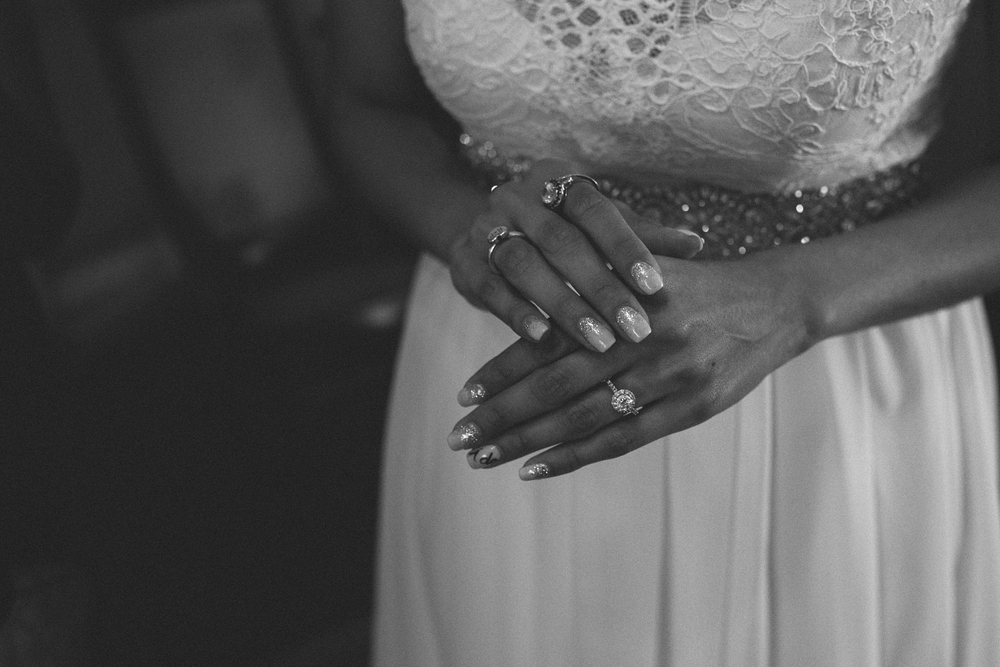 Brides Hands Austin Wedding Photography