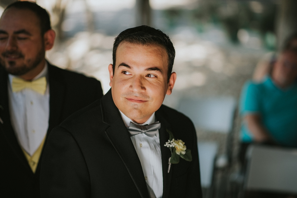 New Braunfels Wedding Groom