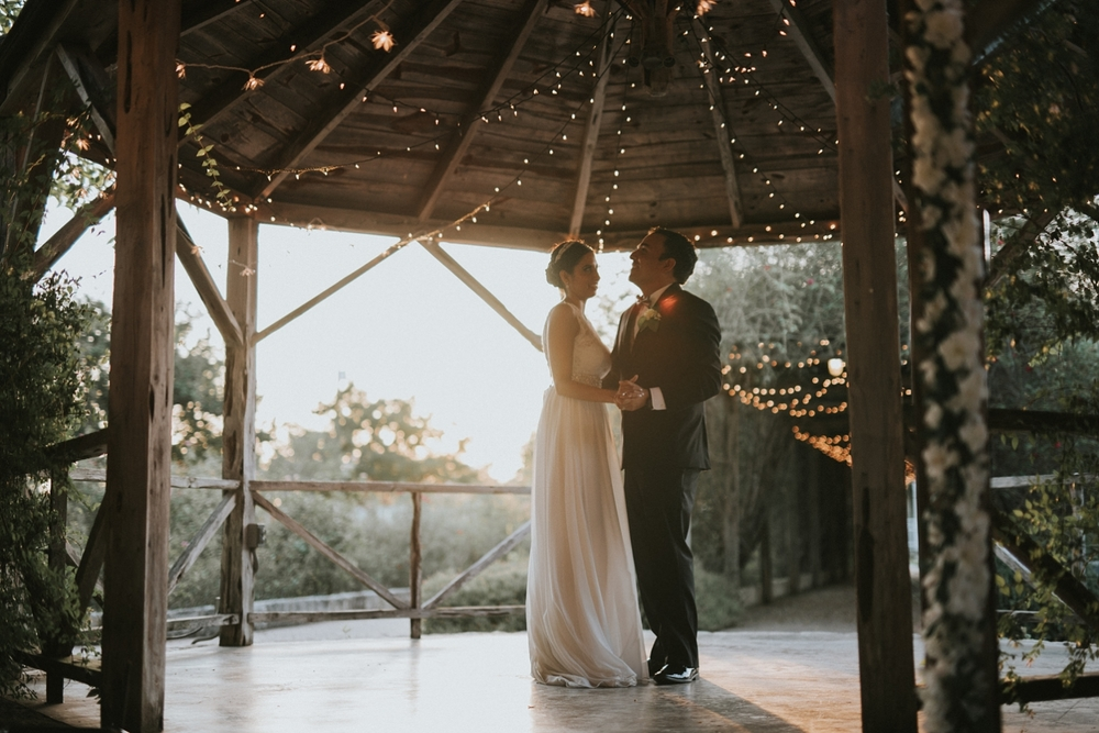 New Braunfels Conservation Society Wedding