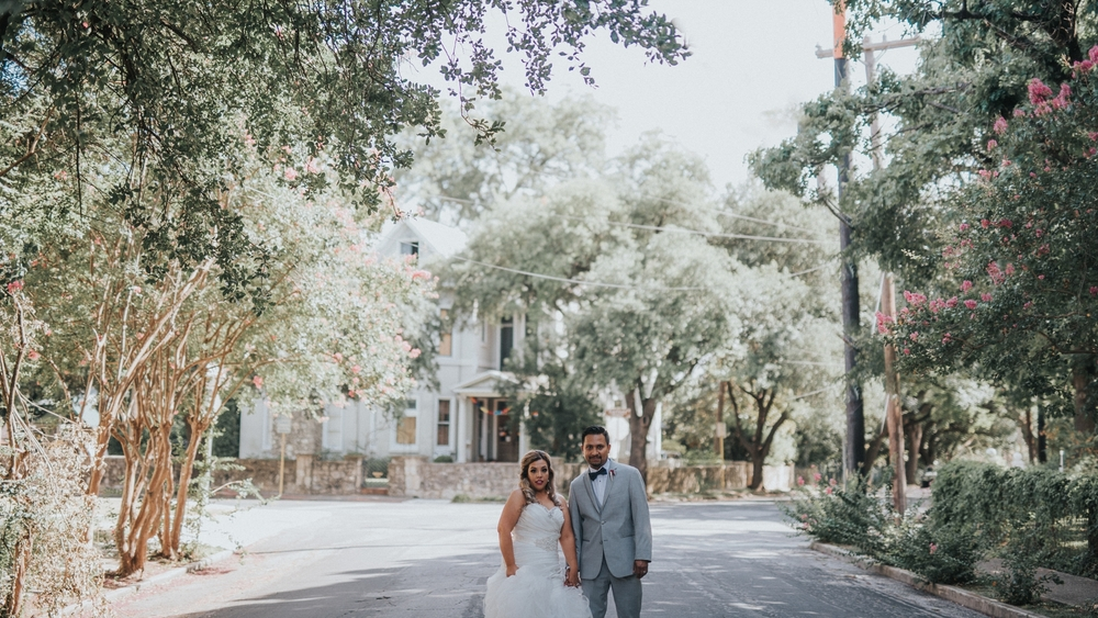 Downtown San Antonio Wedding Portraits