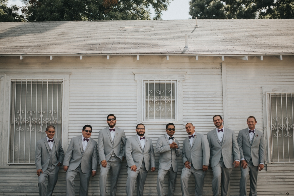 Groom and Groomsmen Portraits