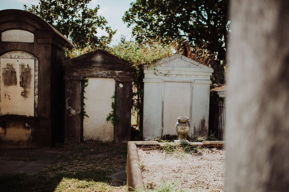 Lafayette Cemetery Photography