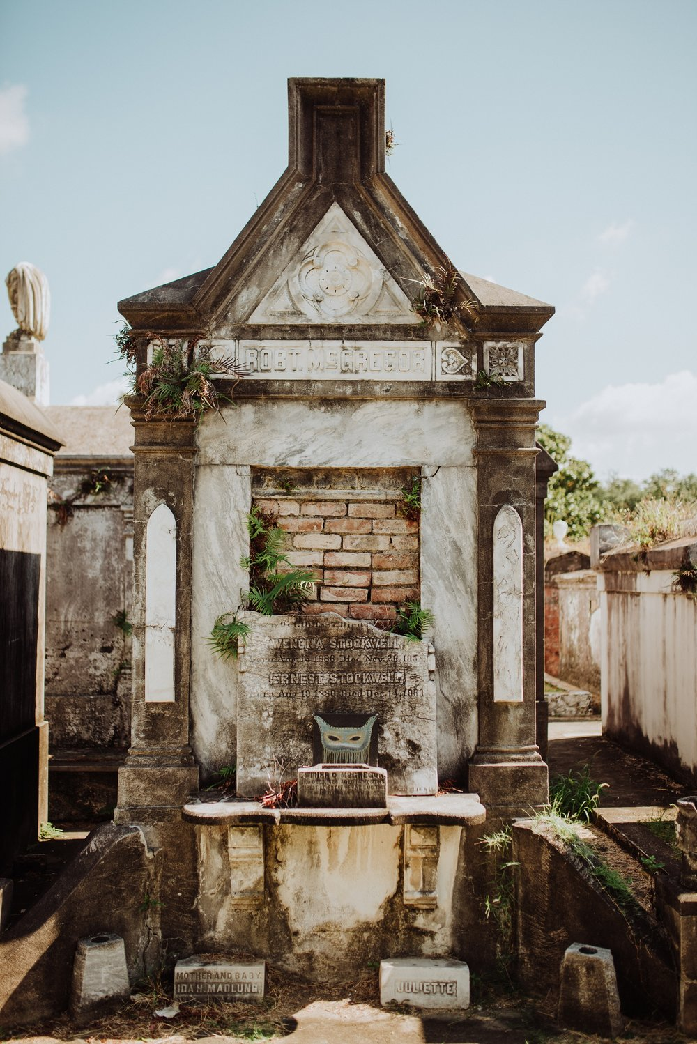 New Orleans Lafayette Cemetery Photo