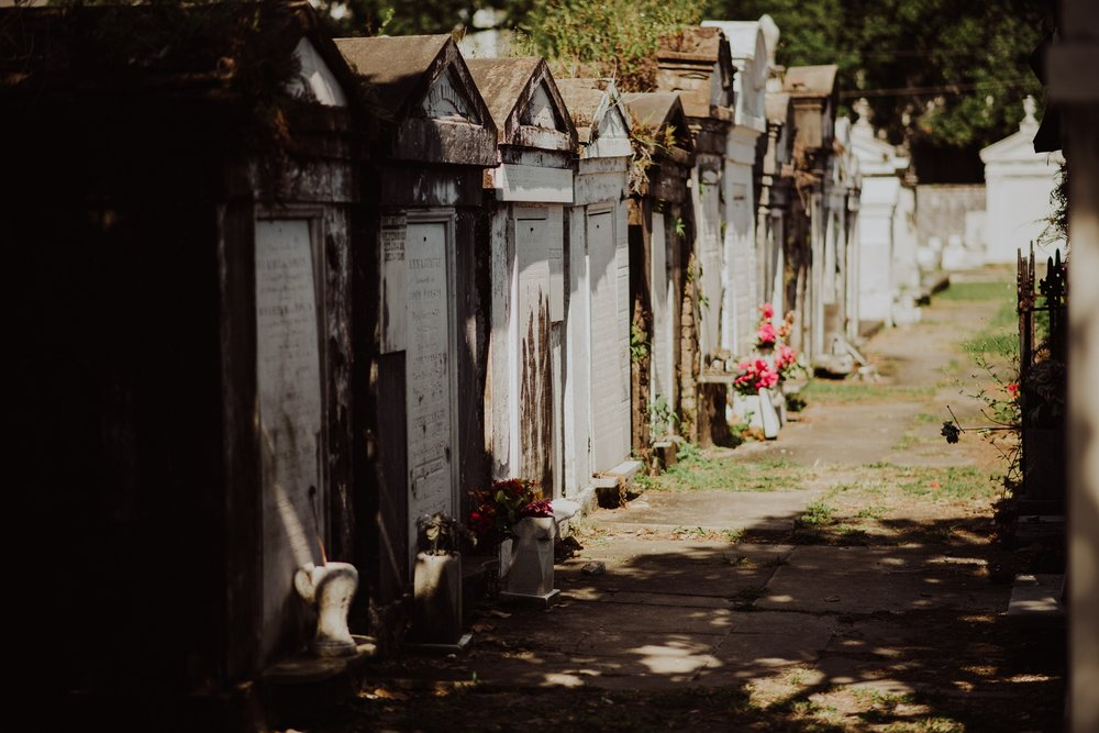 New Orleans Cemetery Photography