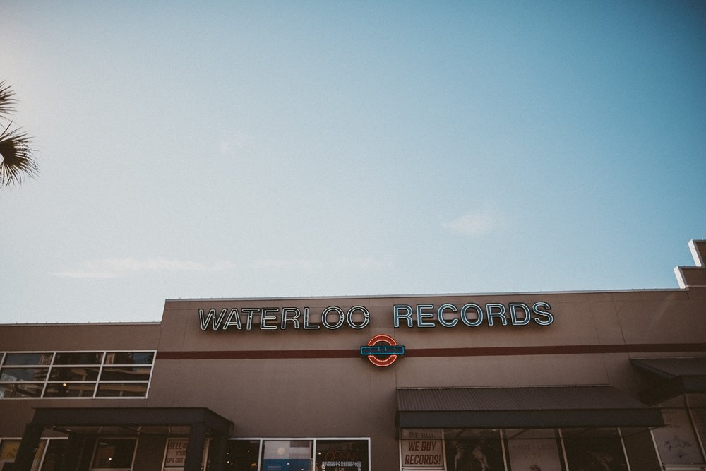 Waterloo Records Austin