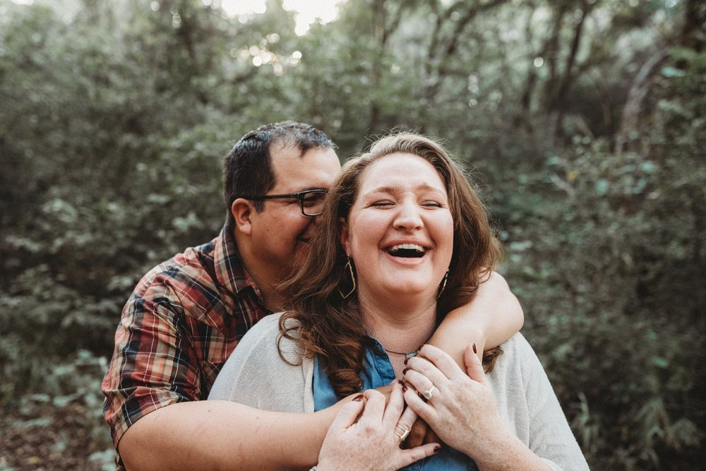 Mayfield Park Engagement Session