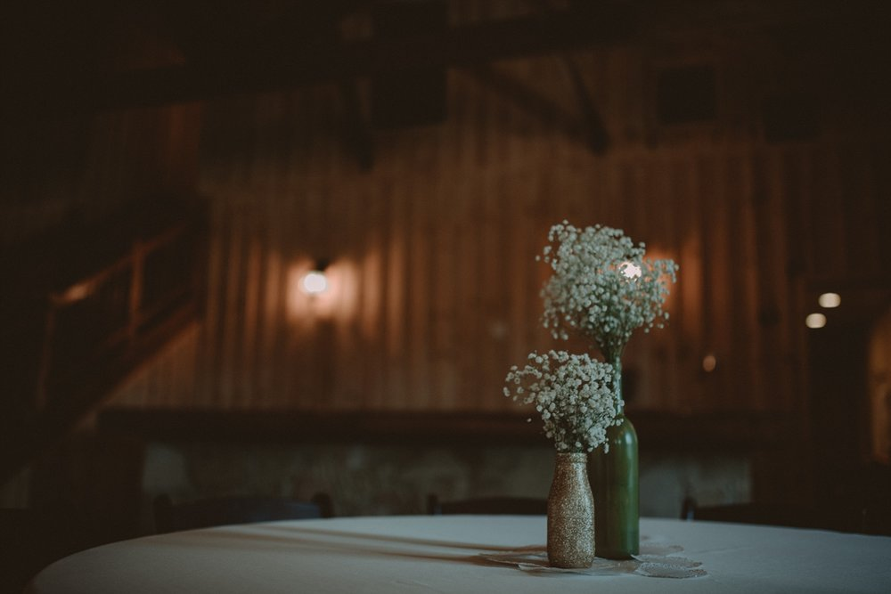 Baby's breath wedding details