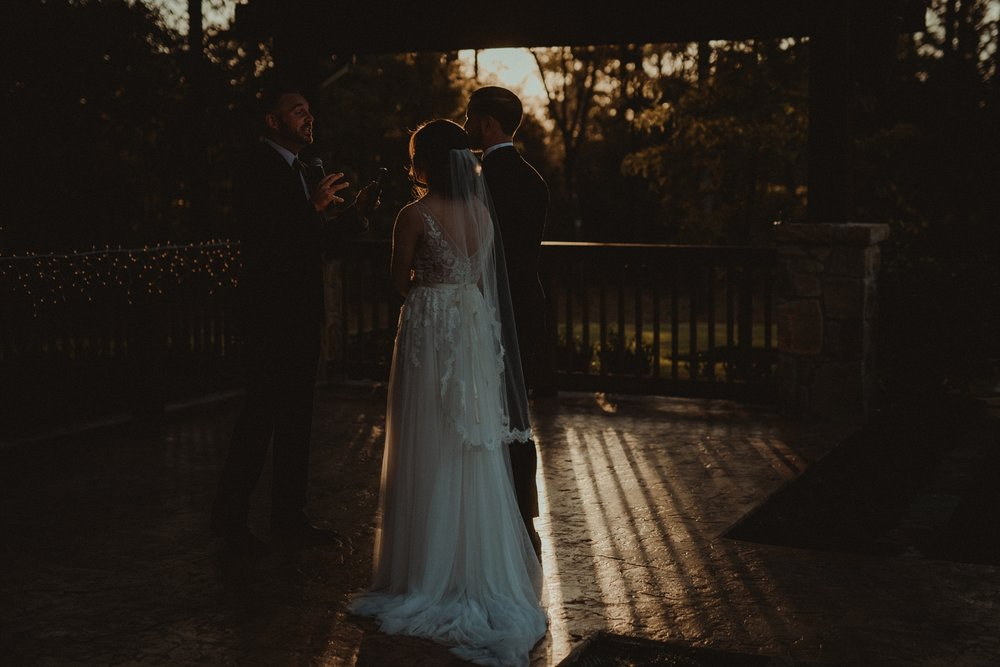 The Springs in The Woodlands Wedding Ceremony