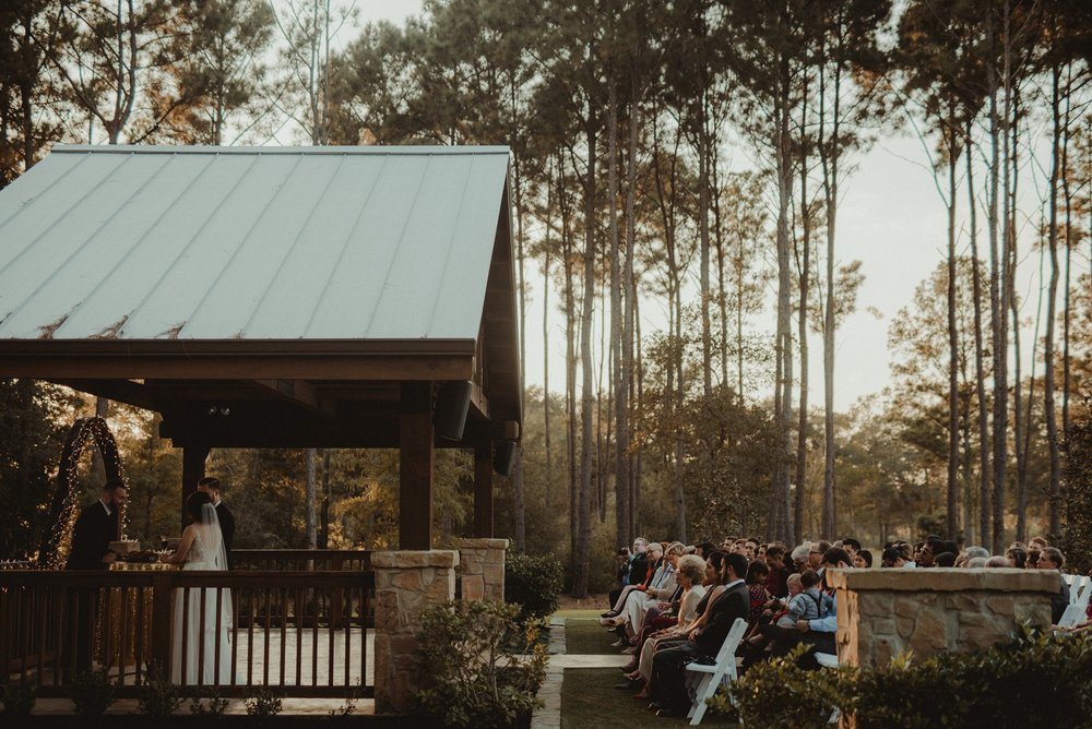 Houston Wedding Ceremony at The Springs