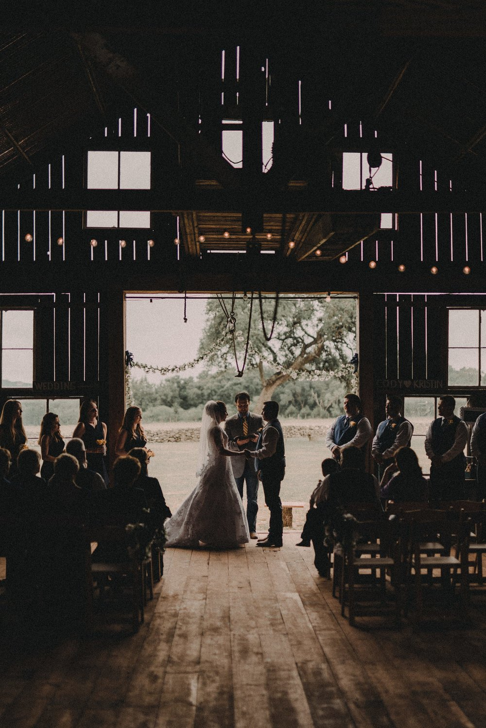 Hill Country Barn Wedding at The 1850 Settlement