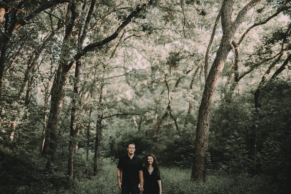 Austin Engagement Photography at Mayfield Park