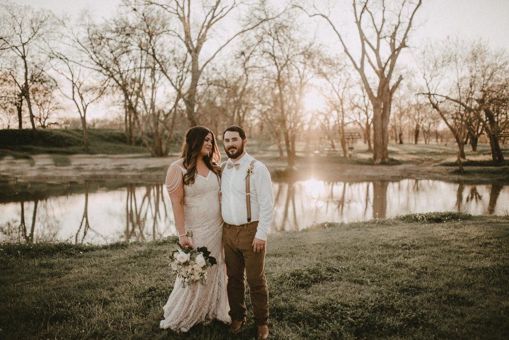 Luling Texas Wedding at Zedler Mill