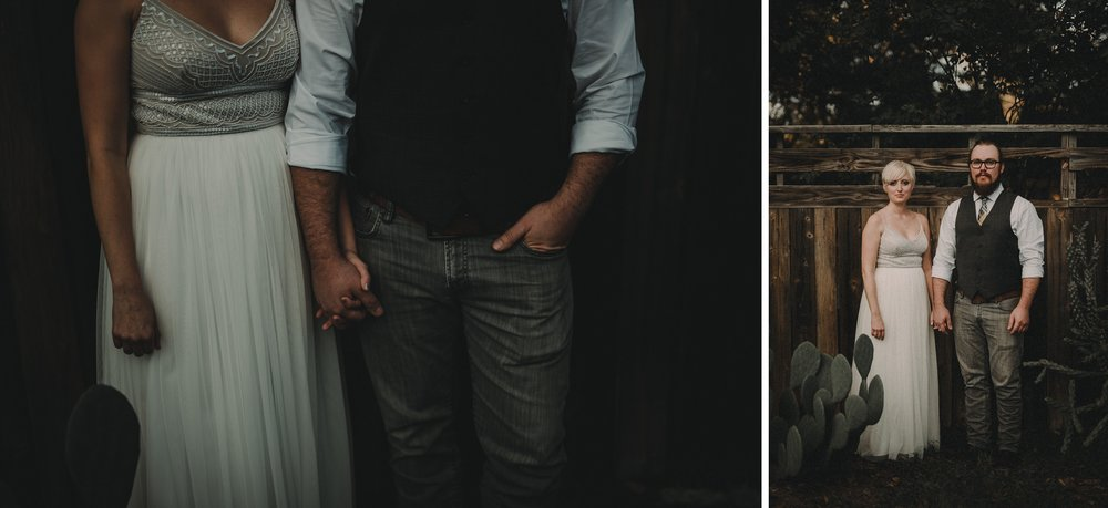 Bride and Groom Portraits at an Austin Wedding