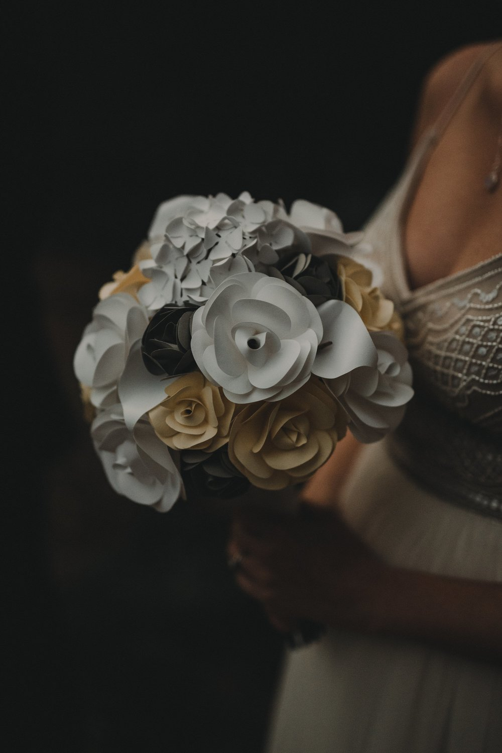Paper DIY Bridal Bouquet