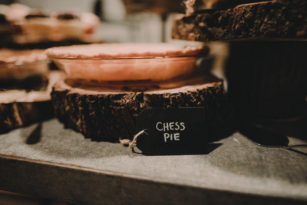 wedding chess pie