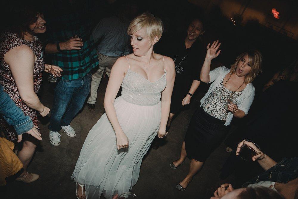 wedding party dance