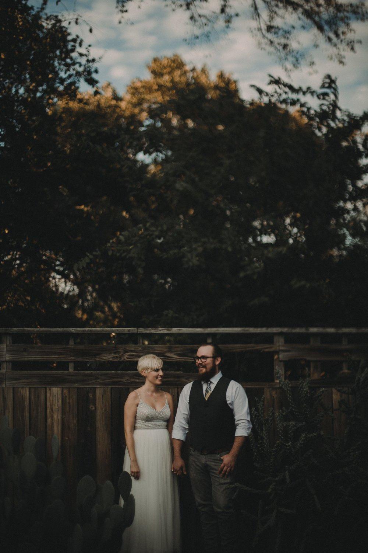 Urban Austin Wedding Portraits at Vuka