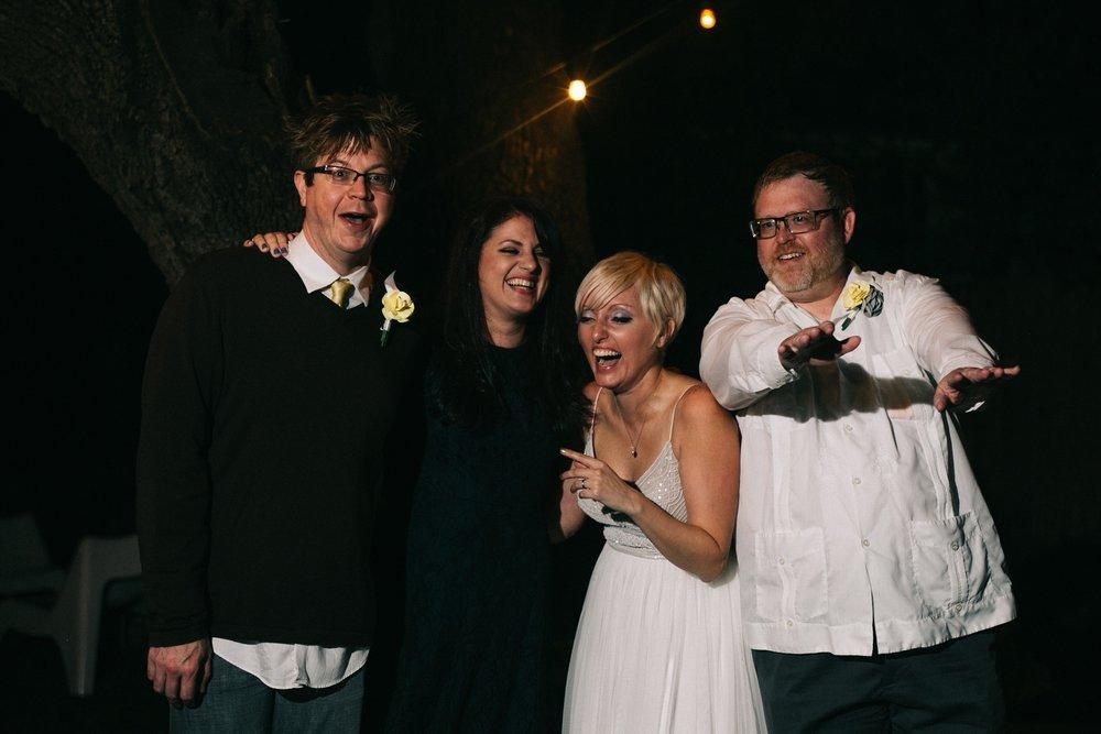 bridal party candids
