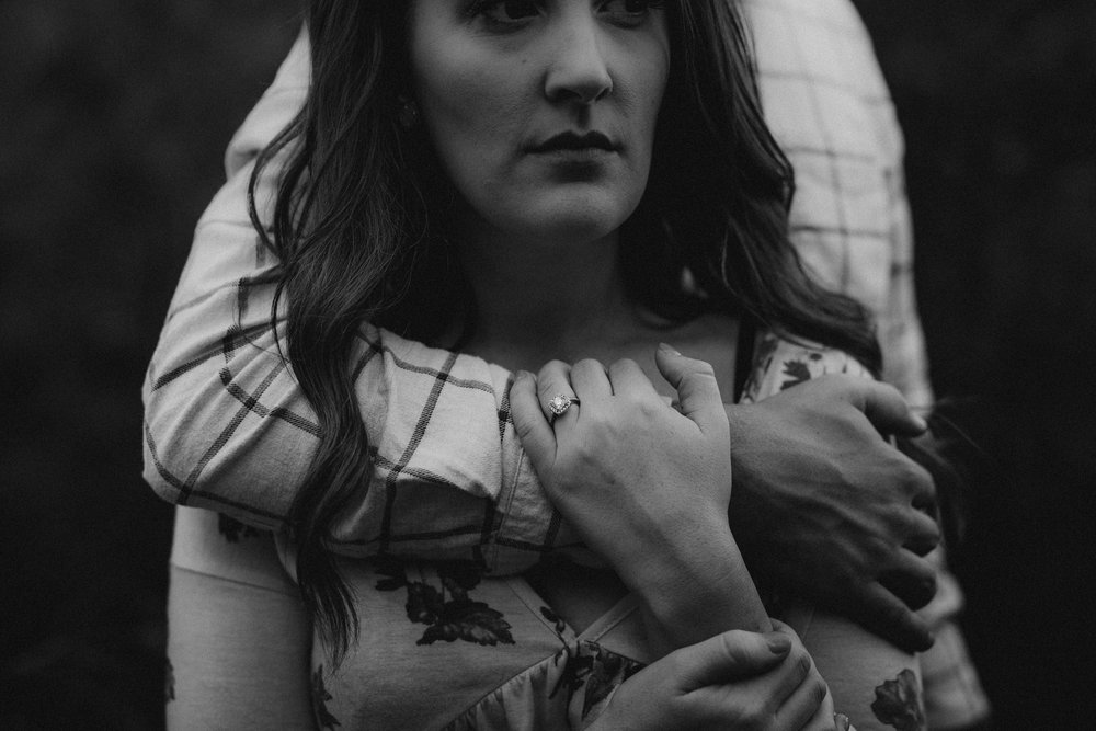 moody engagement photos in Austin, TX