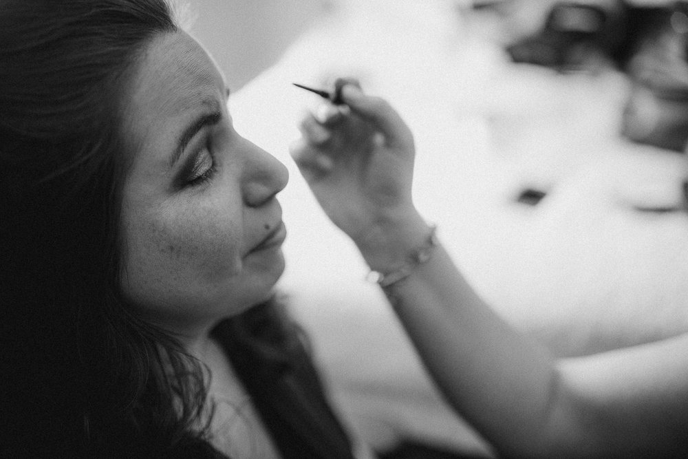 Bridal Preparations for Texas wedding