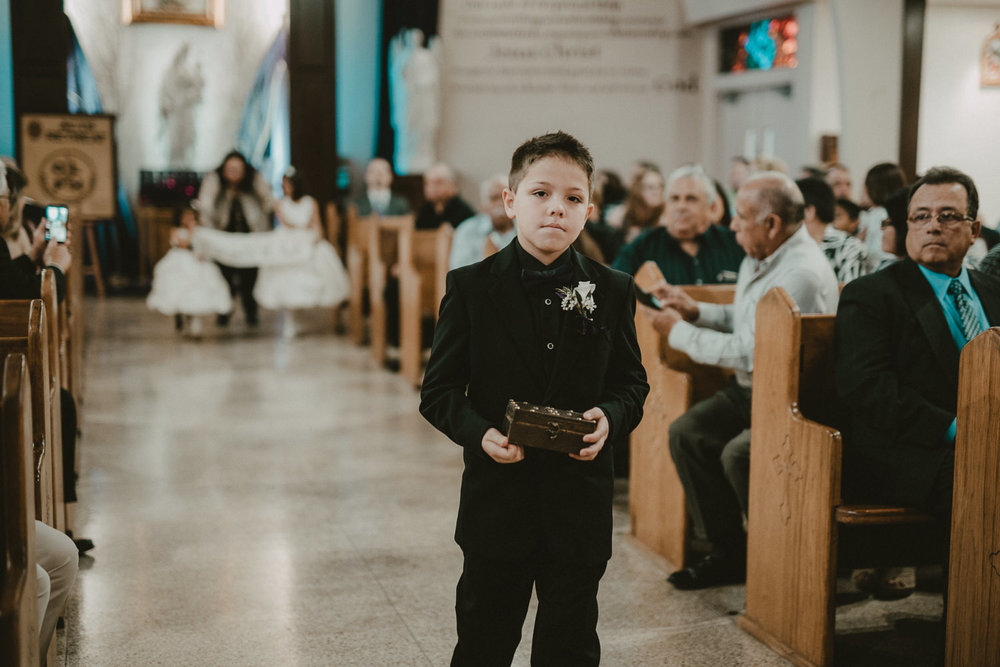 Ring Bearer Walk Down the Aisle