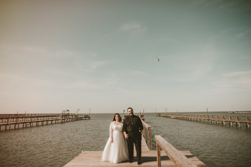 Wedding Portraits in Rockport Texas