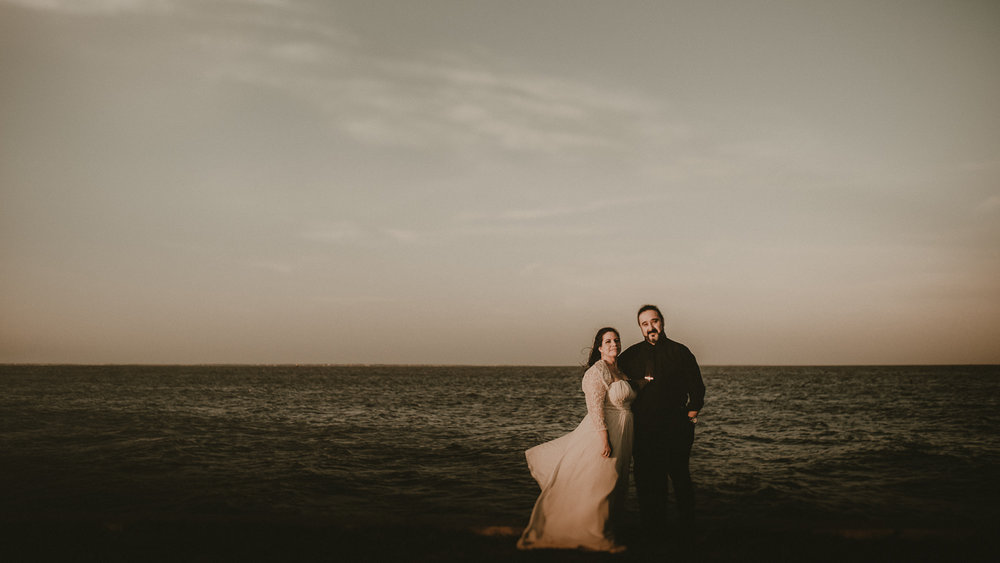 Texas Beach Wedding Photos
