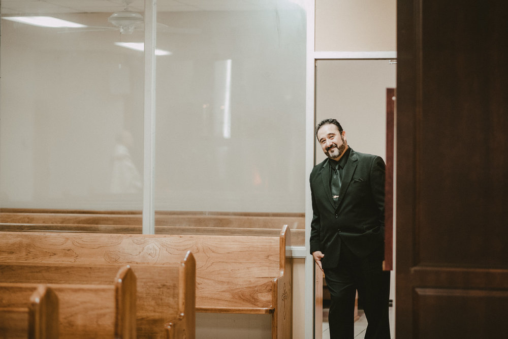Groom Before Wedding in Corpus Christi