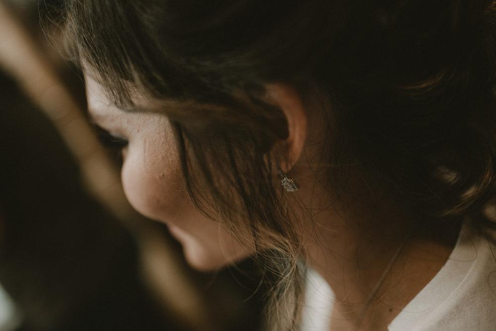 Bride earings