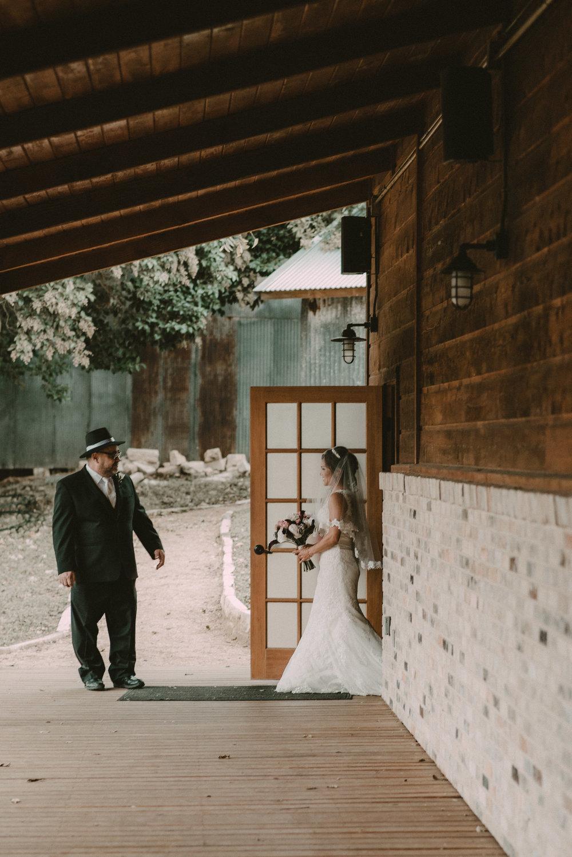 Zedler Mill Bride Walked Down Isle