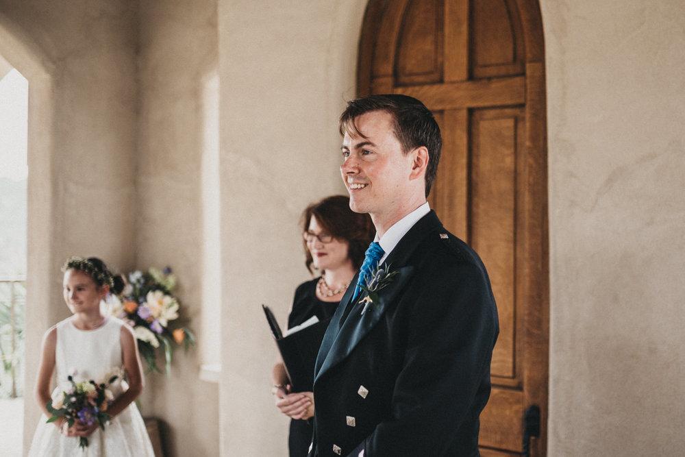 Groom sees his Bride