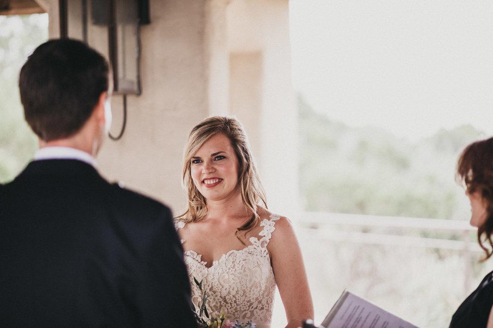 Bride at Chapel Dulcinea in Austin